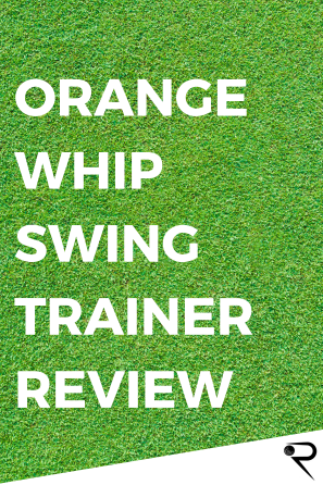 orange whip swing trainer review main image