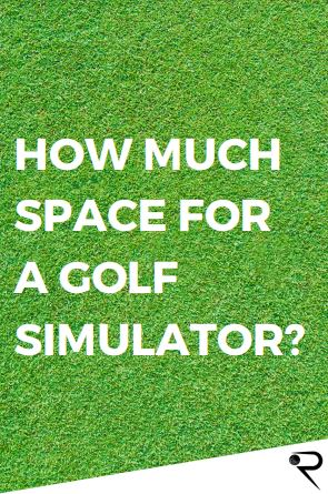 how much space for a golf simulator main image