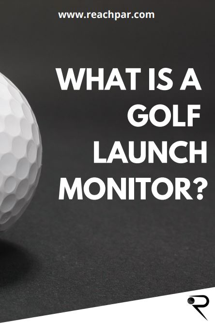 what is a golf launch monitor main image