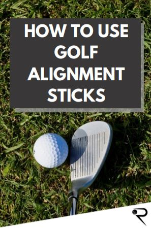 how to use golf alignment sticks main image