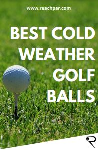 best cold weather golf balls main image