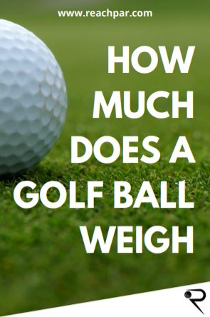 how much does a golf ball weigh main image