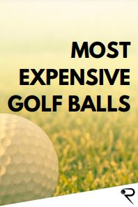 most expensive golf balls main image