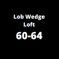 lob wedge loft complementary image