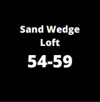 sand wedge loft complementary image